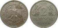 2 DM Trauben und Ähren 1951 D Bundesrepublik Deutschland  wz. Randfehle... 18,00 EUR