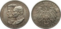 2 Mark Sachsen Universität Leipzig 1909 Kaiserreich  kl. Flecken, fast ... 72,00 EUR