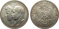 3 Mark Sachsen-Weimar-Eisenach 1910 A Kaiserreich  vz  /  vz+  75,00 EUR
