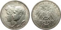 3 Mark Sachsen-Weimar-Eisenach 1910 A Kaiserreich  Bildseite vz, Adlers... 79,00 EUR