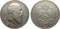 5 Mark Baden Regierungsjubiläum 1902 Kaiserreich  wz. Randfehler, fast ... 149,00 EUR