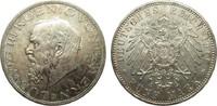 5 Mark Bayern Ludwig III 1914 D Kaiserreich  vorzüglich / Stempelglanz  190,00 EUR