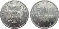 500 Mark 1923 J Weimarer Republik  vorzüglich / Stempelglanz  60,00 EUR