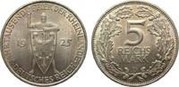 5 Mark Rheinlande 1925 D Weimarer Republik  vorzüglich / Stempelglanz  115,00 EUR