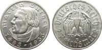 2 Mark Luther 1933 G Drittes Reich  vorzüglich / Stempelglanz  75,00 EUR