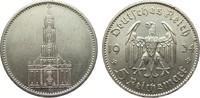 5 Mark Kirche ohne Datum 1934 F Drittes Reich  min. Randfehler, vorzügl... 29,00 EUR