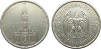 5 Mark Kirche ohne Datum 1935 A Drittes Reich  sehr schön  10,00 EUR