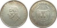 5 Mark Schiller 1934 F Drittes Reich  kl. Druckstellen, vorzüglich / St... 245,00 EUR