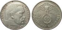 2 Mark Hindenburg 1937 A Drittes Reich  sehr schön  4,00 EUR