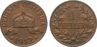1 Heller 1912 J Kolonien und Nebengebiete  vorzüglich / Stempelglanz  35,00 EUR