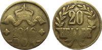 20 Heller 1916 T Kolonien und Nebengebiete  sehr schön  35,00 EUR