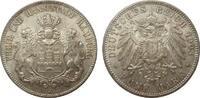 5 Mark Hamburg 1903 J Kaiserreich  kl. Kratzer, fast Stempelglanz  345,00 EUR