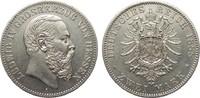 2 Mark Hessen 1888 A Kaiserreich  gutes vorzüglich  3950,00 EUR