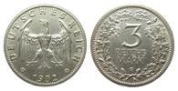 3 Mark Kursmünze 1932 F Weimarer Republik  kl. Randfehler, knapp vorzüg... 595,00 EUR