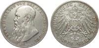 2 Mark Sachsen-Meiningen 1913 D Kaiserreich  l. berieben, knapp vorzügl... 575,00 EUR