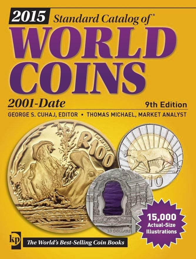 Weltmünzen Krause Mishler, Standard Catalog of World Coins 2001 - 2015 9.<br> Auflage 2014-<br>2015 2001-<br>date