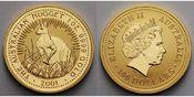 1 oz./ 31,1g. fein 2001  Australien 100 Do...