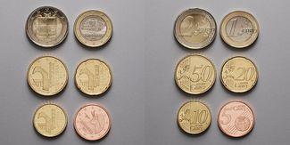 5 Cent -2 Euro, 3,85 2014  Andorra Weihnac...