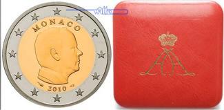 2 Euro 2010  Monaco Fürst Albert von Monac...