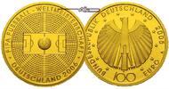 100 Euro  15,55g  fein  28 mm Ø 2005J  Deutschland Fussball WM, Prägest... 699,00 EUR kostenloser Versand