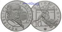 Italien 10 Euro Antonio Canova 1757-2007 / Silber, inkl. Kapsel & Zertifikat & Etui