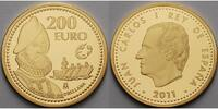 Spanien 200 Euro  13, 5g  fein  30 mm Ø Francisco de Orellana, inkl. Etui & Zertifikat & Schuber - Europaprogramm