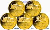 100 Euro 5 x 15,55g fein 28 mm Ø 2011 ADFGJ  Deutschland Wartburg bei E... 3395,00 EUR kostenloser Versand