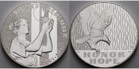 USA 31,10g fein, 39,83mm Ø Medaille/Gedenkprägung z.11.September, 10 Jahre i.org.Kapsel & Zertifikat & Etui