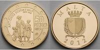 Malta 50 Euro 5,95g fein 21 mm Ø Sciortino - Europaprogramm - inkl. Etui & Zertifikat & Schuber