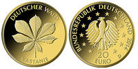 20 Euro  3, 89g  fein  17, 5 mm Ø 2014 F  Deutschland Deutscher Wald, K... 249,00 EUR  zzgl. 5,00 EUR Versand