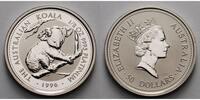 Australien 50 $  1/2oz.   15,55g  fein  25 mm Ø 50 Dollar, Junger Koala auf Ast, 9995 Platin, ohne Kapsel,