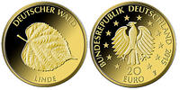 20 Euro  3,89g  fein  17,5 mm Ø 2015 F  Deutschland Deutscher Wald, Lin... 239,00 EUR  zzgl. 5,00 EUR Versand