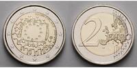 2 Euro 2015 Finnland 30 Jahre EU-Flagge 1985-2015 stgl  4,70 EUR