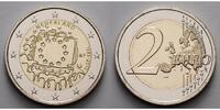 2 Euro 2015 Niederlande 30 Jahre EU-Flagge 1985-2015 stgl  4,70 EUR