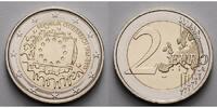 2 Euro 2015 Österreich 30 Jahre EU-Flagge 1985-2015 stgl  4,70 EUR