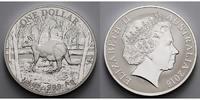 1 $ 2016 Australien Känguruh stgl  57,50 EUR