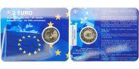 2 Euro 2015 Slowakei 30 Jahre EU-Flagge 1985-2015 stgl im Blister  12,95 EUR