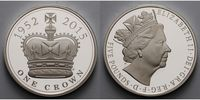 5 Pounds 2015 Großbritannien Elisabeth II....