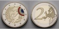 2 Euro 2015 Frankreich Föderationsfest,  Nationalfarben,  mit staatlich... 29,80 EUR