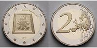 2 Euro 2015 Malta Republik, geringe Auflage, ohne Münzzeichen, PP  32,50 EUR