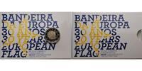 2 Euro 2015 Portugal 30 Jahre EU-Flagge 1985-2015 PP Bimetall im Etui  24,80 EUR