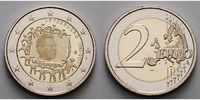 2 Euro 2015 Luxemburg 30 Jahre EU-Flagge 1985-2015 stgl  4,70 EUR  zzgl. 3,95 EUR Versand