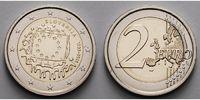 2 Euro 2015 Slowenien 30 Jahre EU-Flagge 1985-2015 stgl  4,50 EUR  zzgl. 3,95 EUR Versand