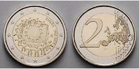 2 Euro 2015 Spanien 30 Jahre EU-Flagge 1985-2015 stgl  4,70 EUR  zzgl. 3,95 EUR Versand