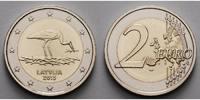 2 Euro 2015 Lettland Schwarzstorch stgl  4,50 EUR  zzgl. 3,95 EUR Versand