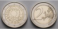 2 Euro 2015 Italien 30 Jahre EU-Flagge 1985-2015 stgl  4,70 EUR  zzgl. 3,95 EUR Versand