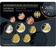 5,88 2016 J Deutschland Kursmünzensatz,   Prägestätte J stglim Blister  23,50 EUR  zzgl. 3,95 EUR Versand
