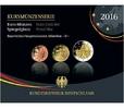 5,88 2016 D Deutschland Kursmünzensatz,   Prägestätte D  PPim Blister  43,50 EUR  zzgl. 5,00 EUR Versand