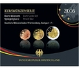 5,88 2016 F Deutschland Kursmünzensatz,   Prägestätte F  PPim Blister  34,50 EUR  zzgl. 5,00 EUR Versand