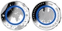 5 Euro 2016 A Deutschland blauer Planet Erde, Prägestätte A, sofort lie... 29,80 EUR  zzgl. 5,00 EUR Versand